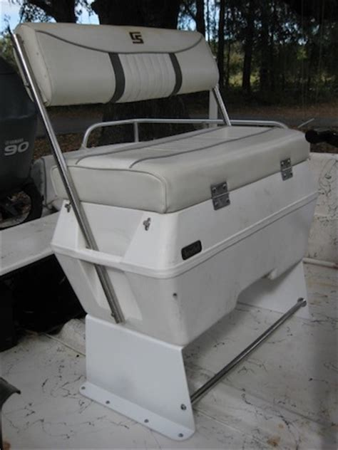 Skiff Boat Seats by Todd Cooler Seat Kit