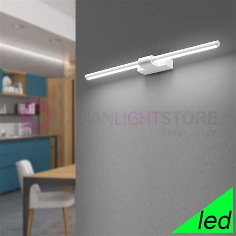 applique on line line applique lada parete moderna led 64 cm perenz 6650blc