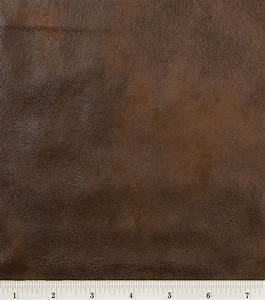 Microsuede Fabric-Brown Distressed Jo-Ann