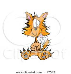 Crazy Cat Clip Art