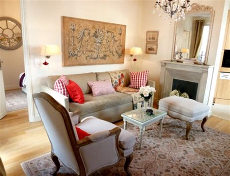 Entry Towards French Country Style Living Room