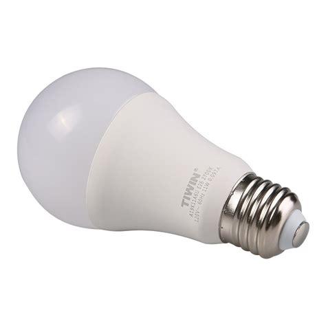 tiwin a19 e26 led light bulbs 100 watt equivalent 11w