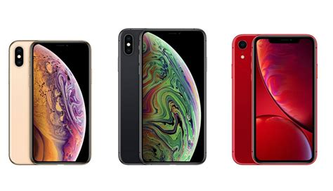 iphone xs vs iphone xs max vs iphone xr specs compared