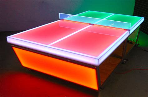 ping pong table rental led ping pong table arcade party rental