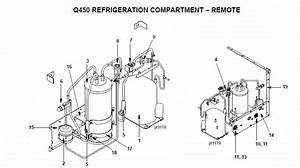 Manitowoc Q450 Series Ice Machine Parts Diagram