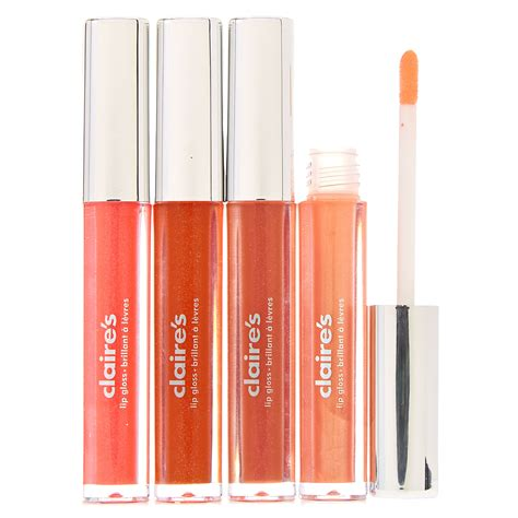 shades of orange lip gloss s us