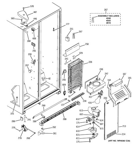 ge gssibtbcc side  side refrigerator parts sears partsdirect