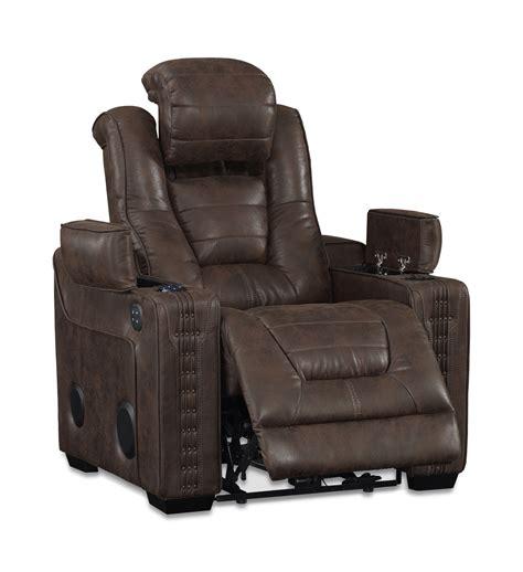 morph power recliner hom furniture