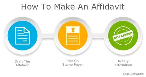 how to get an affidavit