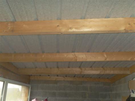 isoler un garage pour faire une chambre isolation et faux plafond sous bac acier photos 35
