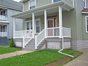 Vinyl Decking Railing Installation Poly Enterprise Hip Roof Porch Benefits