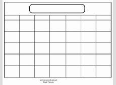 Large print Calendar PDFs Print Blank Calendars