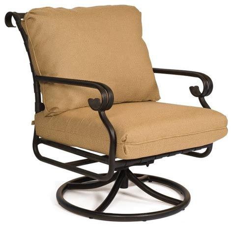 woodard ramsgate cushion swivel rocker lounge chair