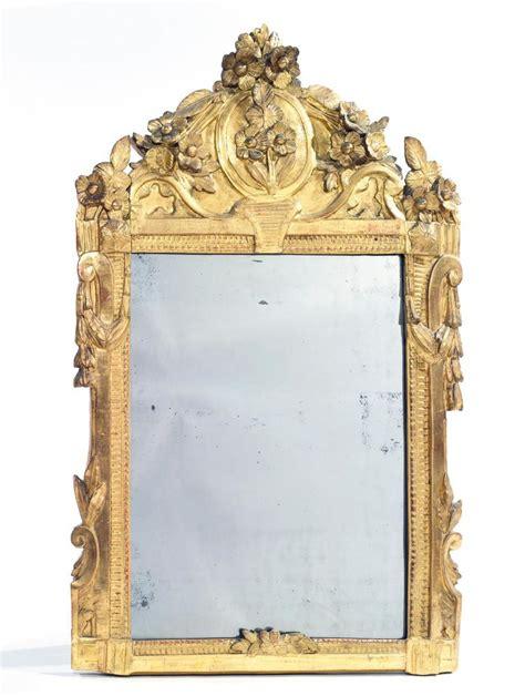 miroir en bois et stuc dor 233 moulur 233 et sculpt 233 de cannelure