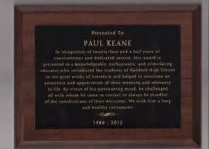 Retirement Plaque Quotes