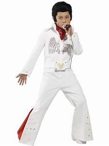 Boys Elvis Outfit Licensed 50s Rock Star Celebrity Kids Fancy Dress Costume | eBay
