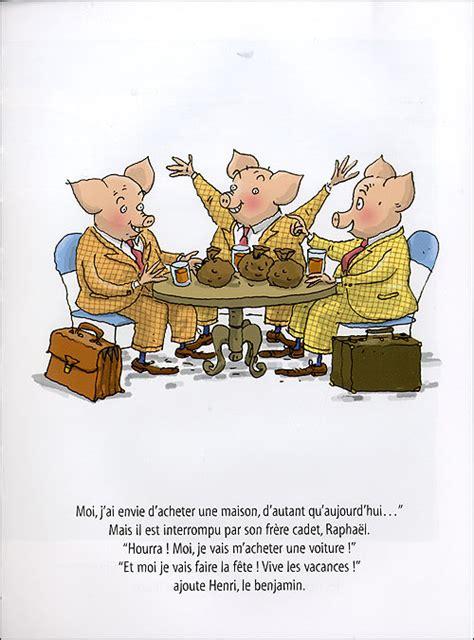 planche de cuisine igor et les trois petits cochons relié geoffroy de