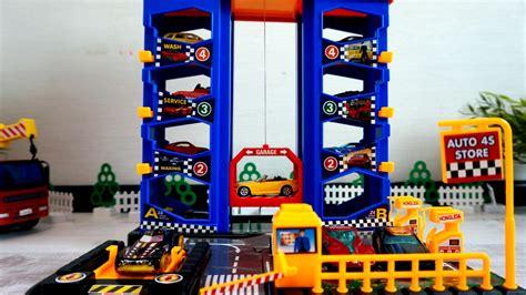 car park garage toy car parking cars toys  boys