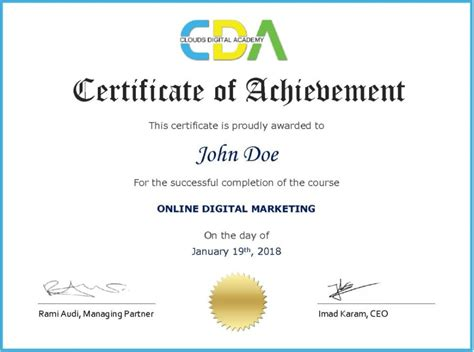 certified digital marketing course digital marketing course and certification in lebanon