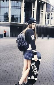 skate girl grunge♥   Grunge♥ ♥   Pinterest   Skate style ...