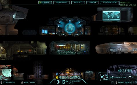 xcom enemy unknown game headquarters happens science where