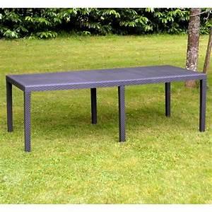 Table De Jardin Avec Rallonge : salon de jardin avec rallonges achat vente pas cher ~ Farleysfitness.com Idées de Décoration