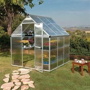 Kit Serre De Jardin : serre de jardin mythos polycarbonate 3 40 m embase ~ Premium-room.com Idées de Décoration