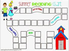 Spring Time Treats Updated Reading chart free printable