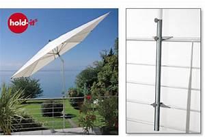 Sonnenschirme Für Den Balkon : avali hold it der sonnenschirmhalter aus edelstahl f r ~ Michelbontemps.com Haus und Dekorationen