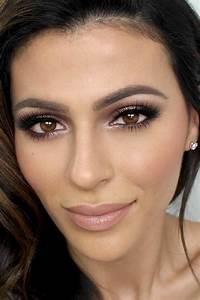 Maquillage Soirée Yeux Marrons : maquillage yeux pour yeux noisette ~ Melissatoandfro.com Idées de Décoration
