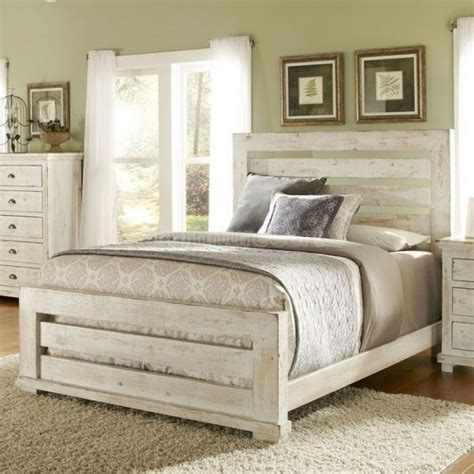 distressed bedroom furniture bedroom ideas distressed white stained wooden master bed