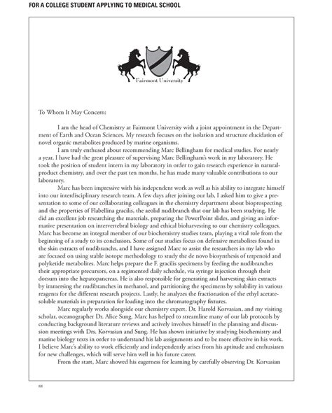 letter  recommendation sample writing   letter
