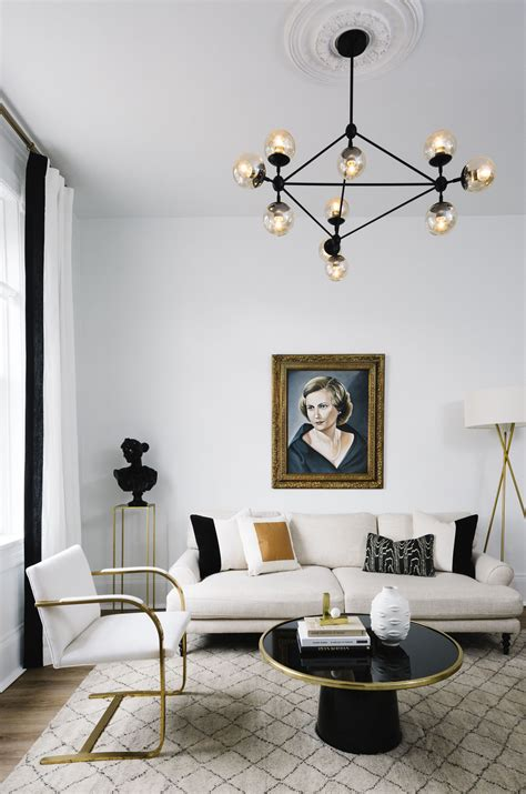 home makeover  interior designers glam black white