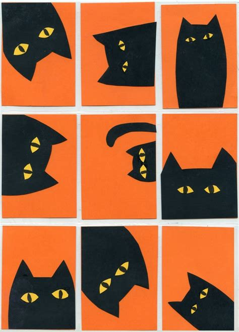 Halloween Cat Collage · Art Projects For Kids