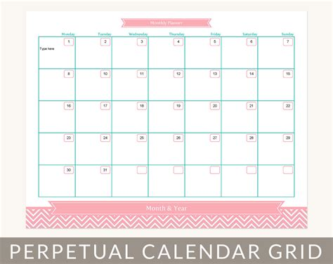 Month At A Glance Calendar Template Costumepartyrun