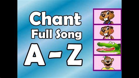 alphabet chant song preschool kindergarten 808 | maxresdefault