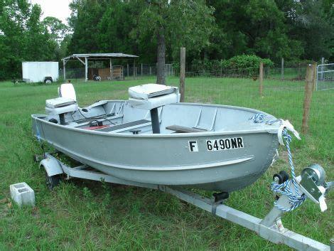 Alumacraft Boat Gauges by 14 Alumacraft Jon Boat For Sale Wooden Drift Boat Forum