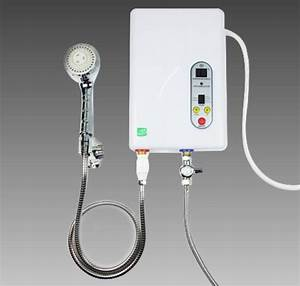 Hot On Sale Electric Hot Water Heater Shower Panel System Instant Hot Shower 220v Ems  Dhl     Free
