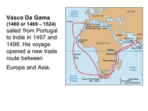 Route Vasco Da Gama by Portugal Ppt