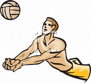 Volleyball Players Passing Clipart (32+)