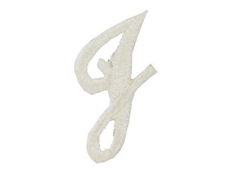 joy  white embroidered iron  script letter  shop hobby lobby inspiration pinterest