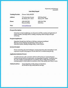 famous sample resume automotive mechanic composition With auto technician resume