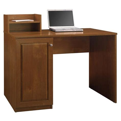 mini hutch for desk bush myspace edge collection cobalt desk with mini hutch