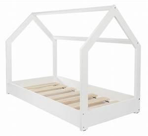 Lit Maison Bois : lit maison 2 en 1 chambre d enfant construction cabane bois naturel 160x80 cm ebay ~ Teatrodelosmanantiales.com Idées de Décoration
