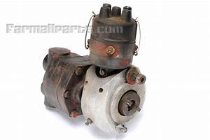 Distributor And Live Hydraulic Pump Assembly From Farmall
