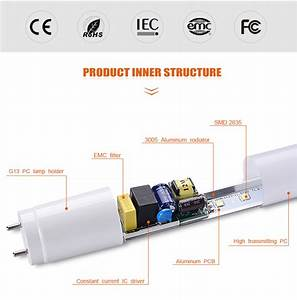 Free Sample 130 Lux 18w Pc Electronic Choke Circuit