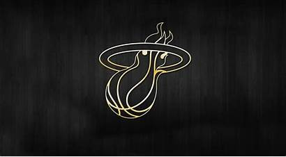 Nba Wallpapers Backgrounds Gold Heat Background Miami