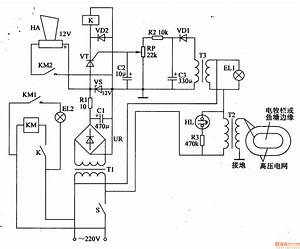Electric Fence Control Circuit - Control Circuit