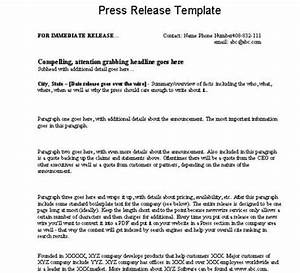 exelent event press release template pattern resume With press release brief template