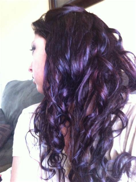 plum hair color plum hair color hair colors hair ideas
